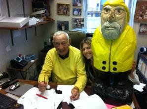 Captain Ahab of Ahab's Adventures visiting Smarties 2011