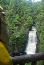 Captain Ahab of Ahab's Adventures at Bushkill Falls in the Delaware Water Gap National Recreational Area of Pennsylvania 2015