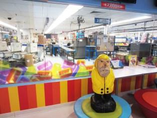 Captain Ahab of Ahab's Adventures touring the PEZ Factory in Orange, Connecticut 2015