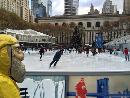 Captain Ahab of Ahab's Adventures at Bryant Park in NYC 2015