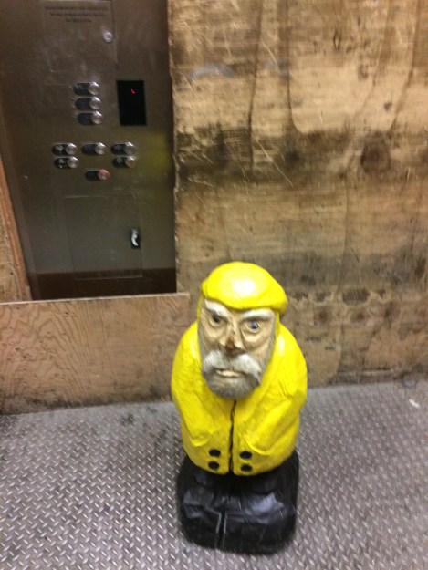 Captain Ahab of Ahab's Adventures at the Empire State Building in NYC 2015
