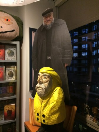 Captain Ahab of Ahab's Adventures at Random House in NYC 2015