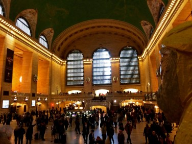 Captain Ahab of Ahab's Adventures at Grand Central Station in NYC 2015