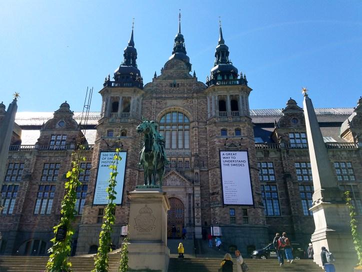 Captain Ahab of Ahab's Adventures at The Nordic Museum in Djurgarden in Stockholm Sweden 2016