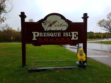 Captain Ahab of Ahab's Adventures exploring Presque Isle Park in Marquette Michigan 2016