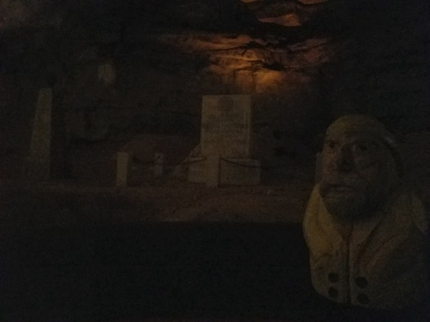 Captain Ahab of Ahab's Adventures inside Mammoth Cave National Park 2017