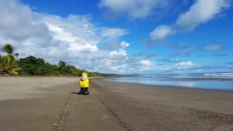 Captain Ahab of Ahab's Adventures exploring the coast in Costa Rica 2018