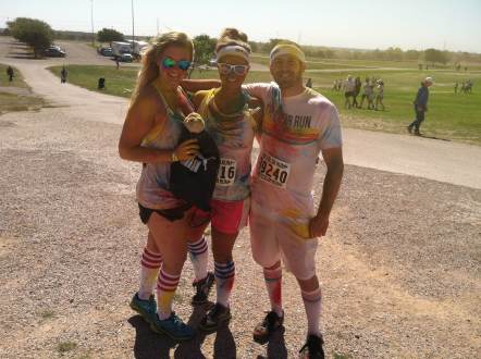 Captain Ahab's Mini Zilker of Ahab's Adventures at The Color Run in Austin Texas 2013