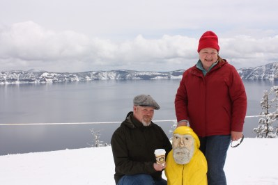 Captain Ahab of Ahab's Adventures at Crater Lake National Park in Oregon 2011