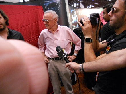 Captain Ahab of Ahab's Adventures with Stan Lee at the New York Comic Con 2011