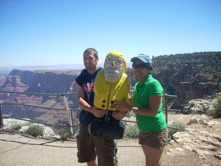 Captain Ahab of Ahab's Adventures at the Grand Canyon National Park in Arizona 2009