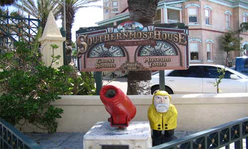 Captain Ahab of Ahab's Adventures at the Southern Most House USA 2006