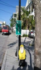 Captain Ahab of Ahab's Adventures at the Southern Most Mile One Marker USA 2006