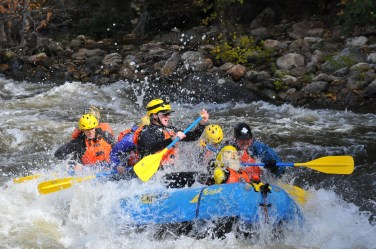 Captain Ahab of Ahab's Adventures White Water Rafting with Zoar Outdoor 2015