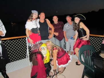 Captain Ahab of Ahab's Adventures on a Pirate Cruise out of Albany New York 2012