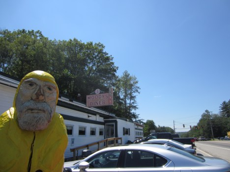 Captain Ahab of Ahab's Adventures on our way to the Eastern Most Point USA 2013