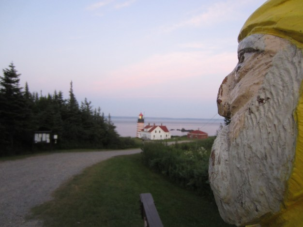 Captain Ahab of Ahab's Adventures at the Eastern Most Point USA 2013