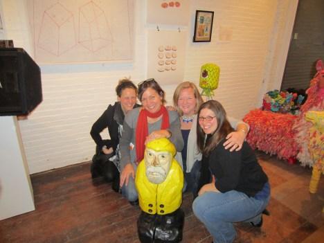 Captain Ahab of Ahab's Adventures at his Pecha Kucha in Biddeford Maine 2014