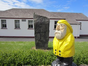 Captain Ahab of Ahab's Adventures on our way to the Ring of Kerry Ireland 2014
