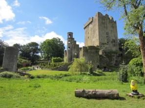 Captain Ahab of Ahab's Adventures at Blarney Castle in Ireland 2014