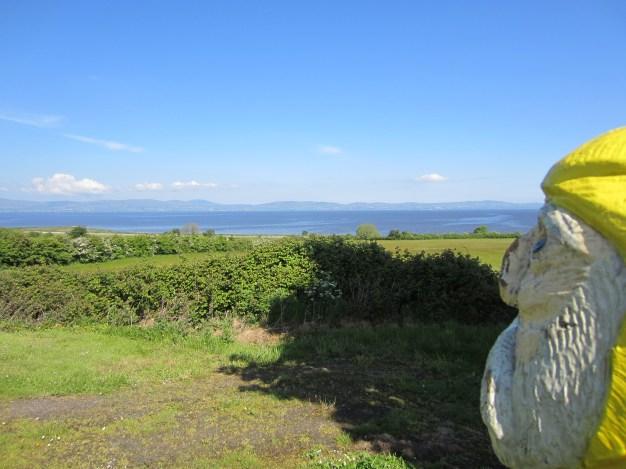 Captain Ahab of Ahab's Adventures viewing the Northwestern coast of Ireland 2014