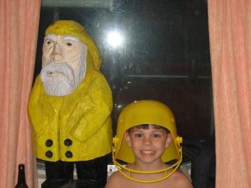 Captain Ahab of Ahab's Adventures on a cruise to the Bahamas on the Norwegian Dawn 2006