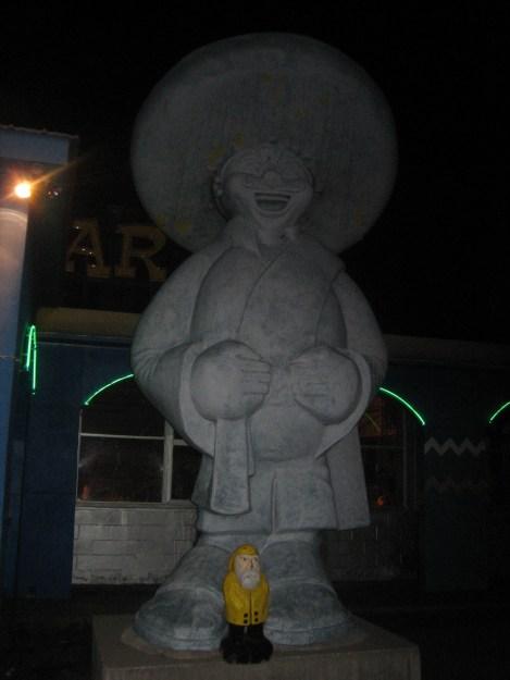 Captain Ahab of Ahab's Adventures at South of the Border South Carolina 2006