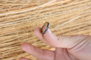 Captain Ahab of Ahab's Adventures found a Mood Ring at the World's Largest Ball of Twine in Kansas 2011