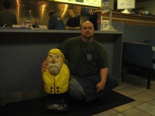 Captain Ahab of Ahab's Adventures at Steve T's in New York 2009