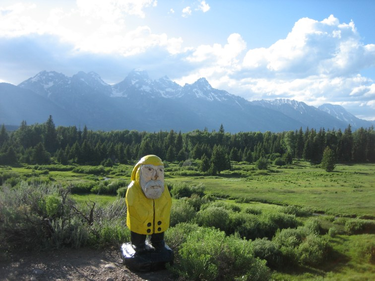 Captain Ahab of Ahab's Adventures at Grand Teton National Park in Wyoming 2009