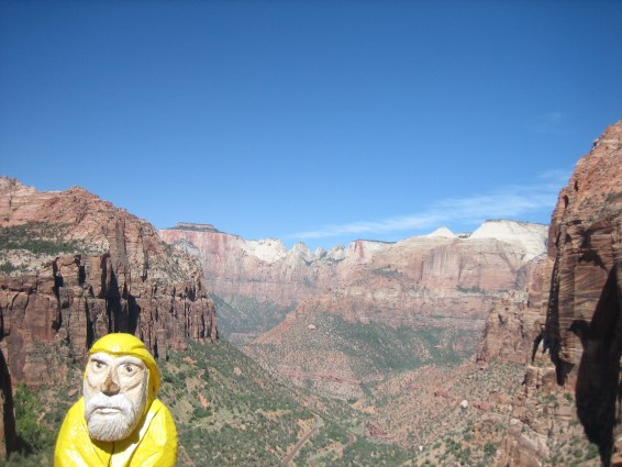 Captain Ahab of Ahab's Adventures at Zion National Park in Utah 2009