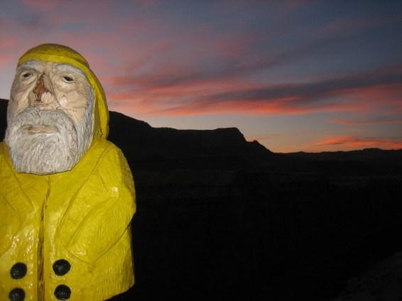 Captain Ahab of Ahab's Adventures near the Vermilion Cliffs in Arizona 2009