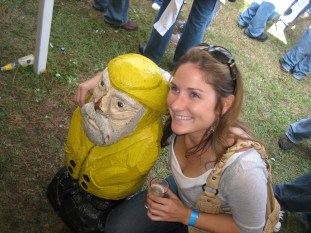 Captain Ahab of Ahab's Adventures at the Lighthouse Beer and Wine Festival in Wilmington North Carolina 2009