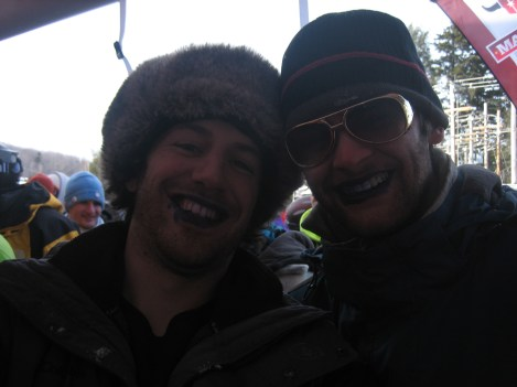 Captain Ahab of Ahab's Adventures at Dew Tour at Mount Snow in Vermont 2010