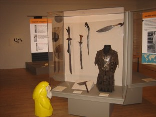 Captain Ahab of Ahab's Adventures at the Berkshire Musuem in Pittsfield Massachusetts 2011