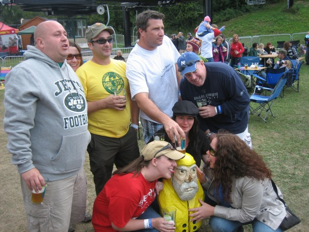 Captain Ahab of Ahab's Adventures at the Mount Snow Brewers Festival 2010
