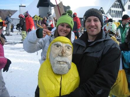 Captain Ahab of Ahab's Adventures at the Dew Tour in Killington Vermont 2011