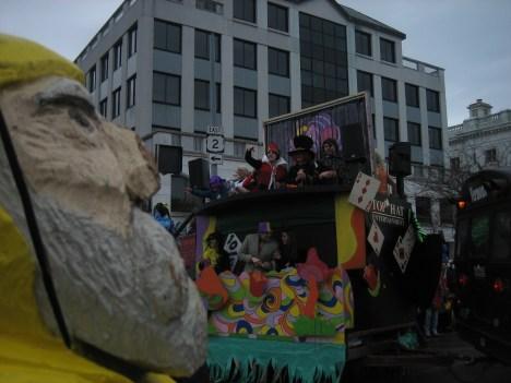 Captain Ahab of Ahab's Adventures at the Magic Hat Brewing Company Parade 2011