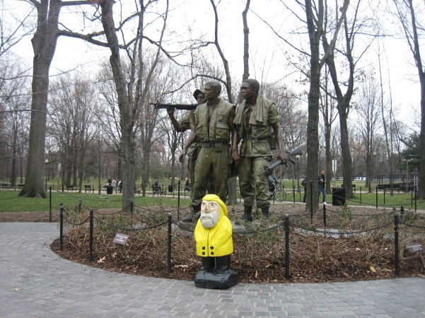 Captain Ahab of Ahab's Adventures wondering around Washington D.C. 2011