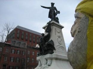 Captain Ahab of Ahab's Adventures wondering around Washington D.C. 2011