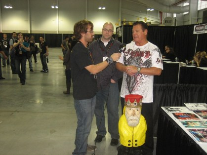 Captain Ahab of Ahab's Adventures at the New York Comic Con 2011