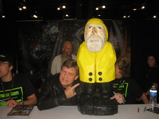 Captain Ahab of Ahab's Adventures with Mark Hamill at the New York Comic Con 2011