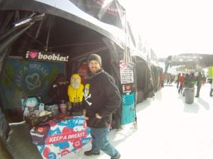 Captain Ahab of Ahab's Adventures at the Dew Tour in Killington Vermont 2012