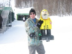 Captain Ahab of Ahab's Adventures at the Dew Tour in Killington Vermont 2012