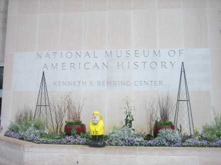 Captain Ahab of Ahab's Adventures at the National Museum of American History in Washington D.C. 2012