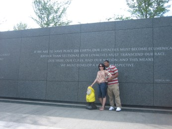 Captain Ahab of Ahab's Adventures at the MLK Memorial in Washington D.C. 2012