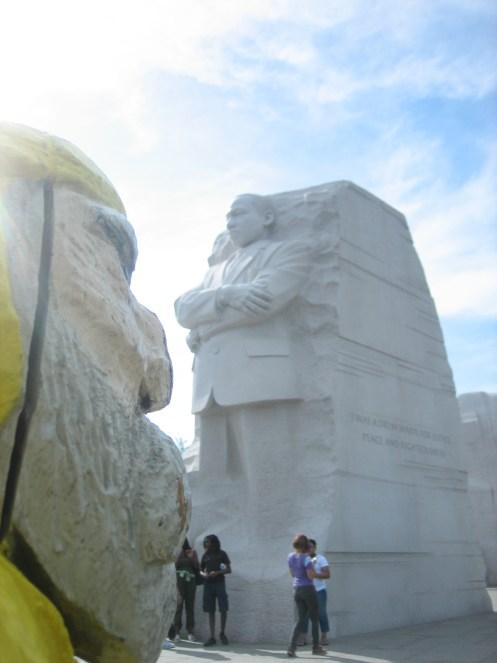 Captain Ahab of Ahab's Adventures at the MLK Memorial in Washington D.C. 2012