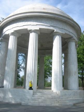 Captain Ahab of Ahab's Adventures wondering around Washington D.C. 2012
