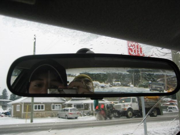 Captain Ahab of Ahab's Adventures exploring Brackendale British Columbia Canada 2006