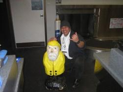 Captain Ahab of Ahab's Adventures landing in Vancouver British Columbia Canada 2006